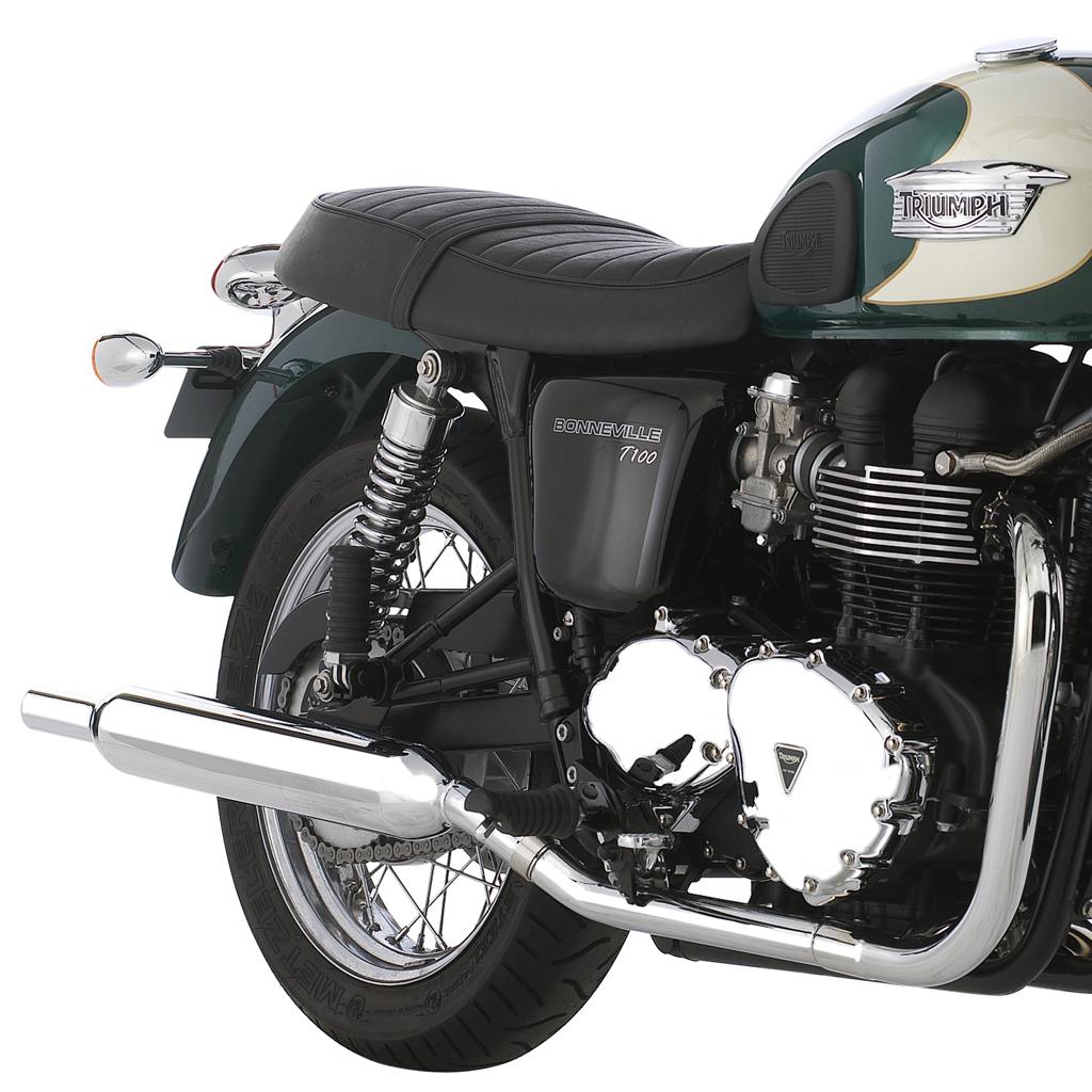 Triumph T100 Silencers