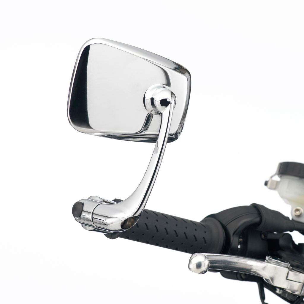Triumph Bonneville Bar End Mirror Kit