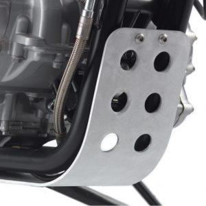 Triumph Bonneville / Scrambler / Thruxton Skid Plate - Clear Anodised