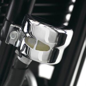 Triumph America / Speedmaster Chrome Rear Brake Reservoir Cover