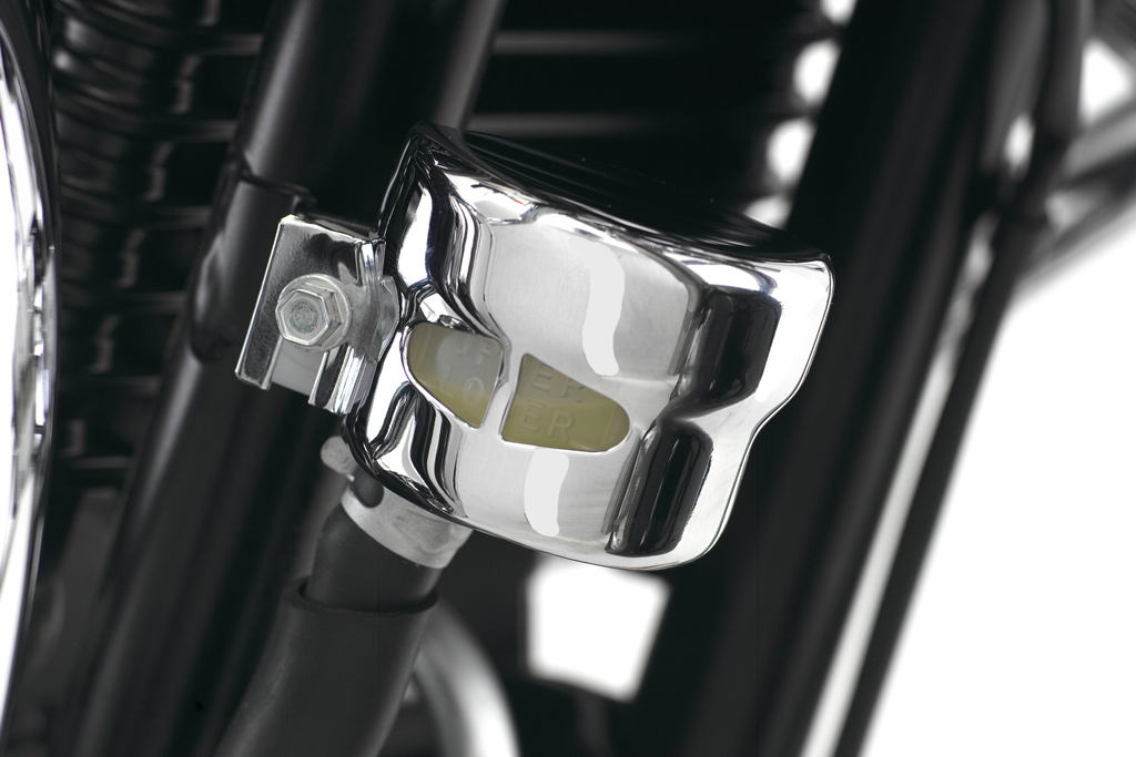 Triumph America / Speedmaster Chrome Rear Brake Reservoir Cover