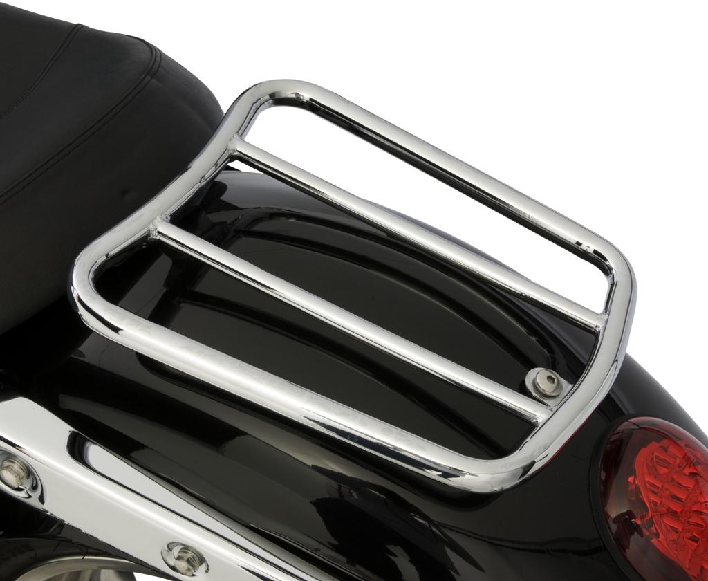 Triumph Thunderbird / Storm / LT Chrome Single Seat Rack - Tubular