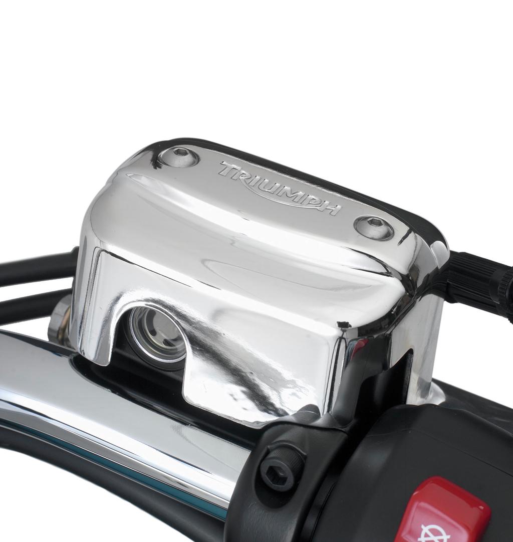 Triumph Thunderbird / Storm / LT Chrome Master Cylinder Cover