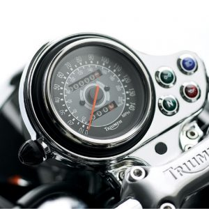 Triumph Bonneville Speedo Fascia - Chrome