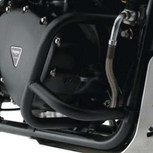 Scrambler Engine Dresser Bars - Black