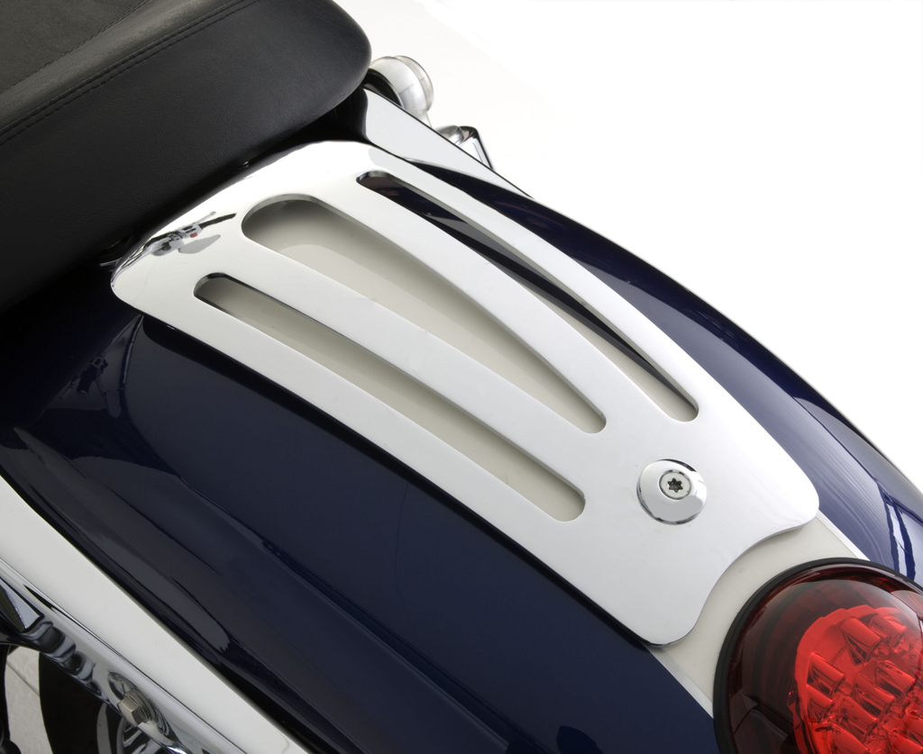 Triumph Thunderbird / Storm / LT Chrome Single Seat Rack - Pressed
