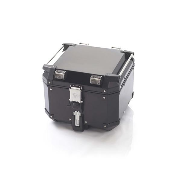 Triumph Expedition Aluminium Top Box - Black