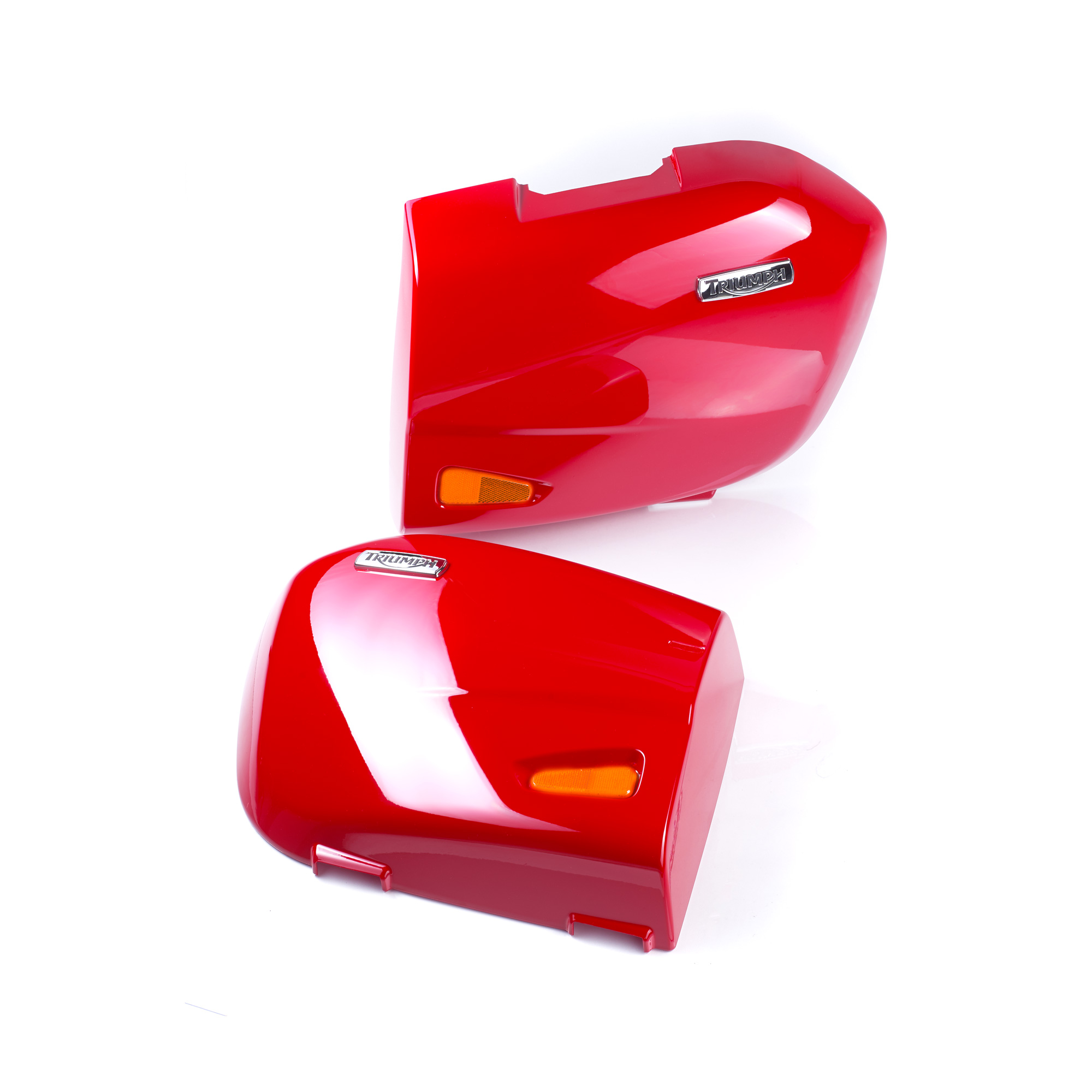 Triumph Tiger Sport Pannier Lid Kit - Diablo Red