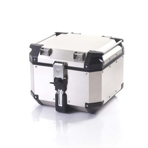 Triumph Expedition Aluminium Top Box - Silver