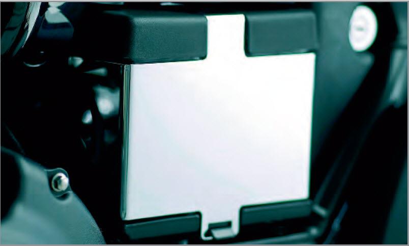 Triumph Speedmaster Battery Box Cover - Chrome