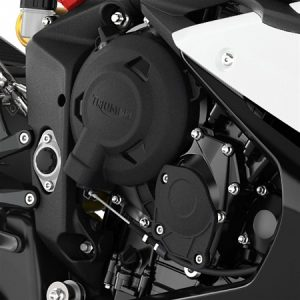 Triumph 675 Engine Cover Protectors