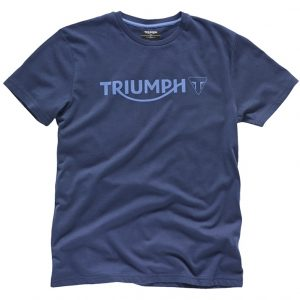 Triumph Dark Blue Logo T-shirt
