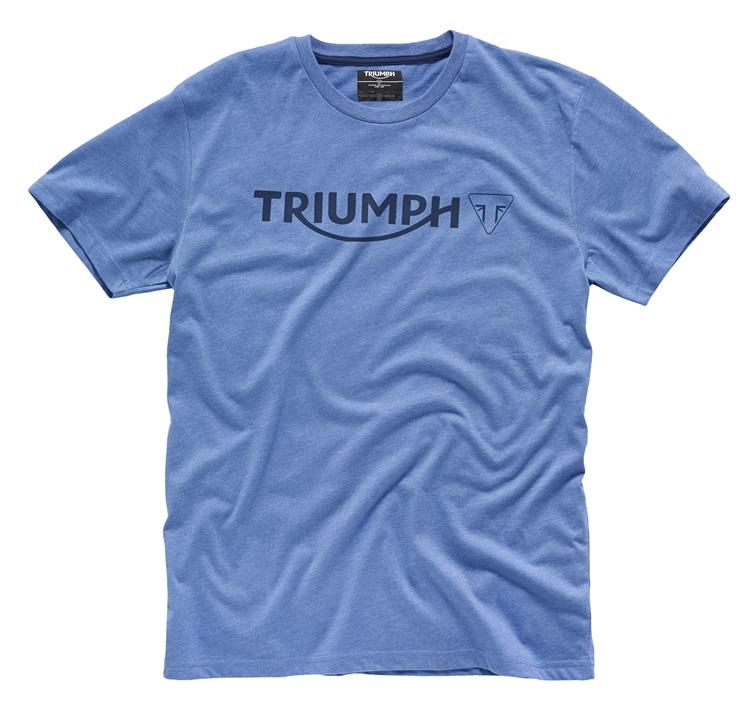 ac81250e3 Triumph Blue Logo T-Shirt - Phillip McCallen Motorcycles