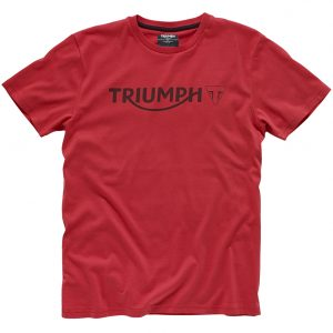 Triumph Logo T-Shirt - Red