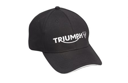 TRIUMPH LOGO CAP - BLACK