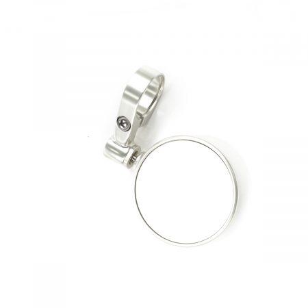Triumph Round Bar End Mirror (70mm) - Clear