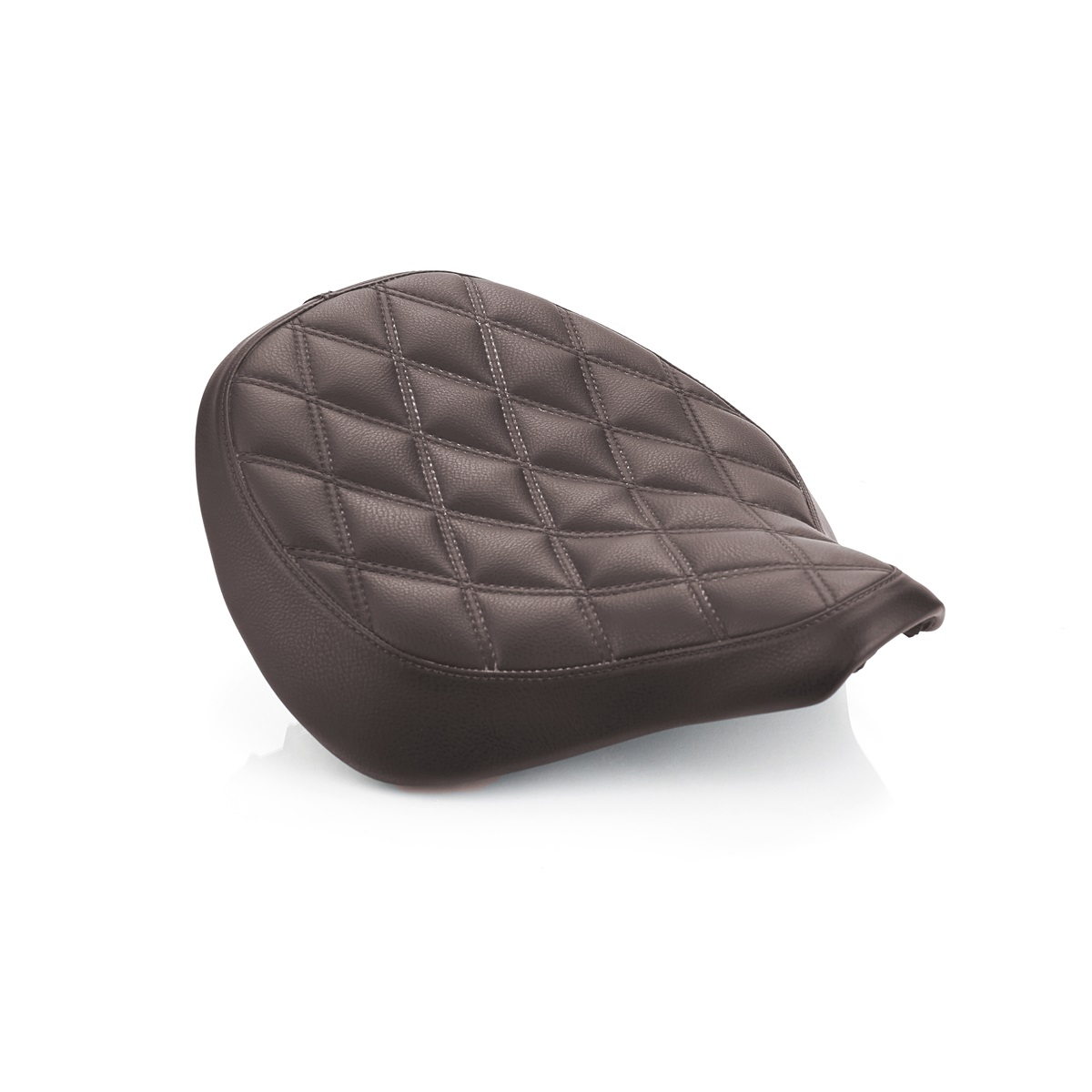 Triumph Bobber Quilted Seat - Brown
