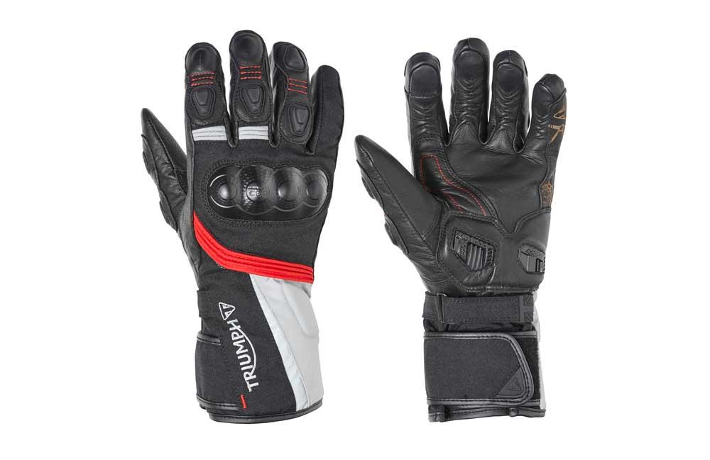 Triumph Journey Waterproof Motorcycle Gloves
