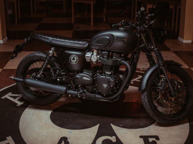 Bonneville T120 Ace Limited Edition Phillip Mccallen Motorcycles